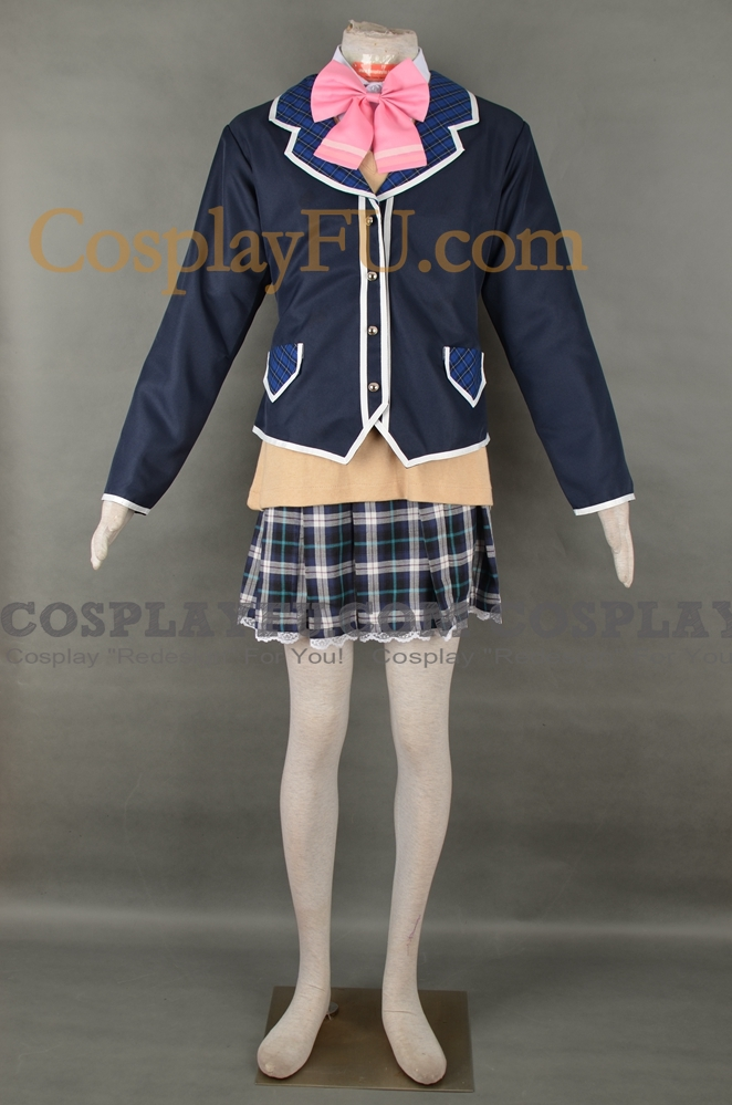 Tsukino Mito Cosplay Costume from Virtual YouTuber