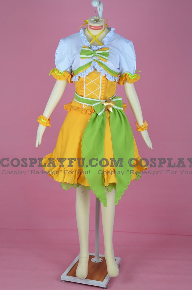 Kasumi Cosplay Costume (Idolized) from Love Live! PERFECT Dream Project