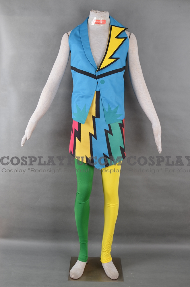 Rainbow Dash Cosplay Costume (Rock) from My Little Pony