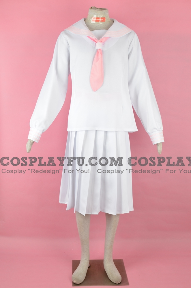 Miho Cosplay Costume (Pink) from Sailor Fuku Hangyaku Doumei