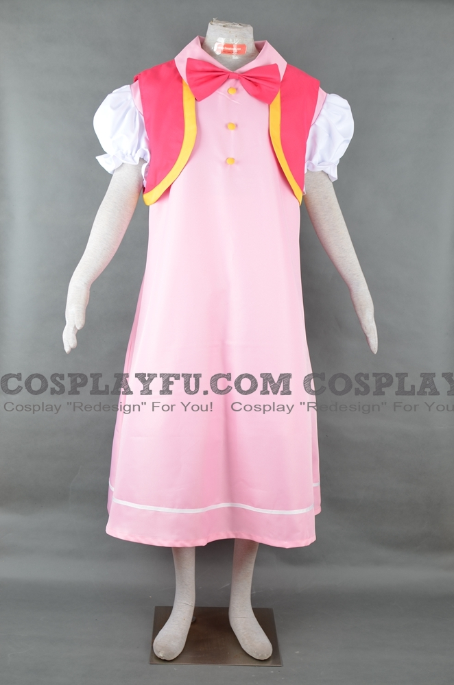 Toadette Cosplay Costume from Super Mario Bros.