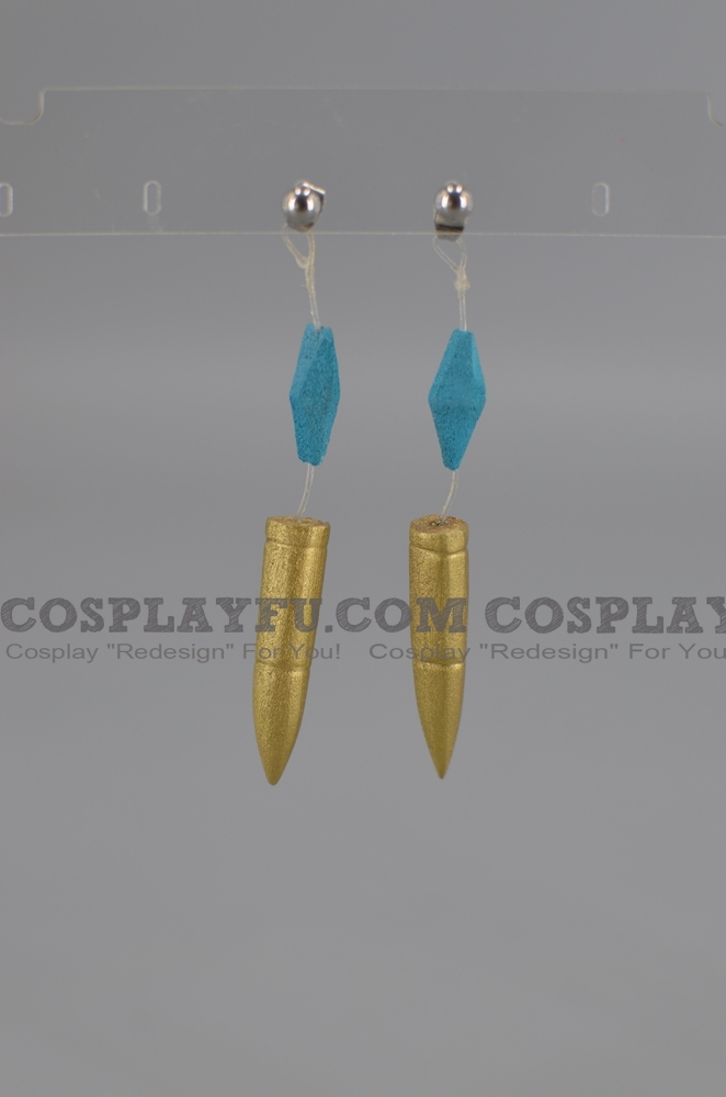 Revolver Cosplay Costume Earrings from Yu-Gi-Oh!