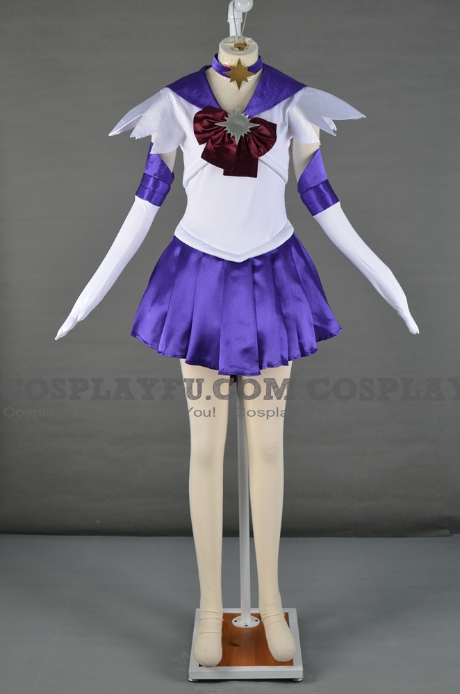 Sailor Saturn Cosplay Costume from Sailor Moon