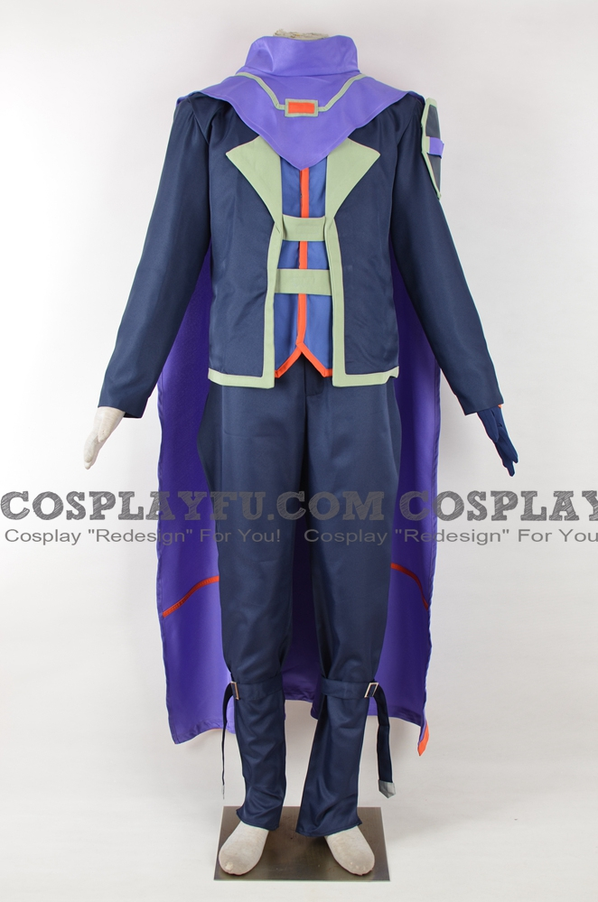 Yu-Gi-Oh! VRAINS Kengo Dojun Costume (Blood Shepherd, LINK VRAINS)
