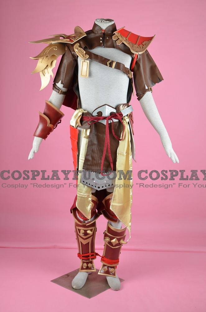 Shao Cosplay Costume from Mortal Kombat