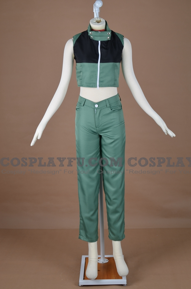 Minene Cosplay Costume (Green) from Future Diary