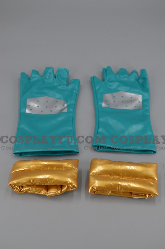 Caesar Anthonio Zeppeli Cosplay Costume Gloves from JoJo's Bizarre Adventure