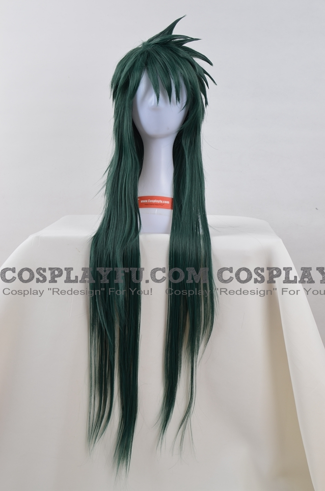 Camus Cosplay Costume Wig from Saint Seiya: The Hades Chapter