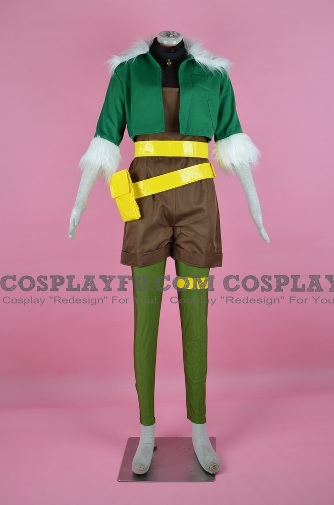 Squirrel Girl Cosplay Costume (2nd) from Marvel Super Hero Squad Online