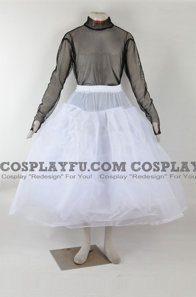 Hoop-less Sottoveste Cosplay