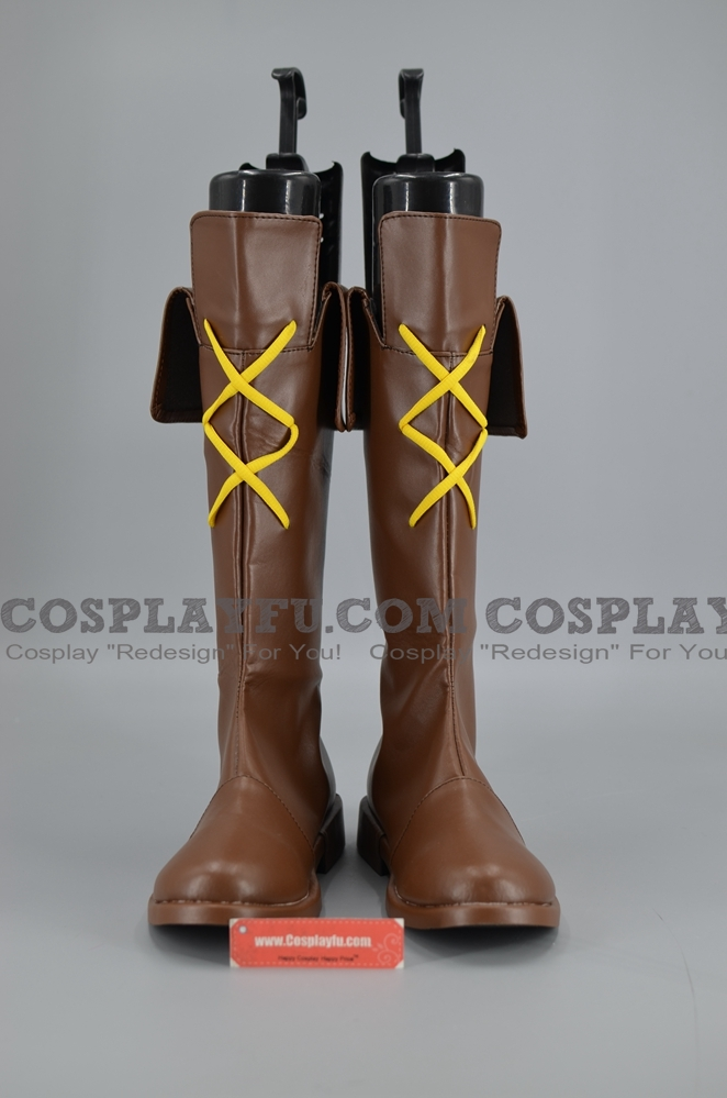 Squirrel Girl Cosplay Costume Shoes from Super Hero Squad Online