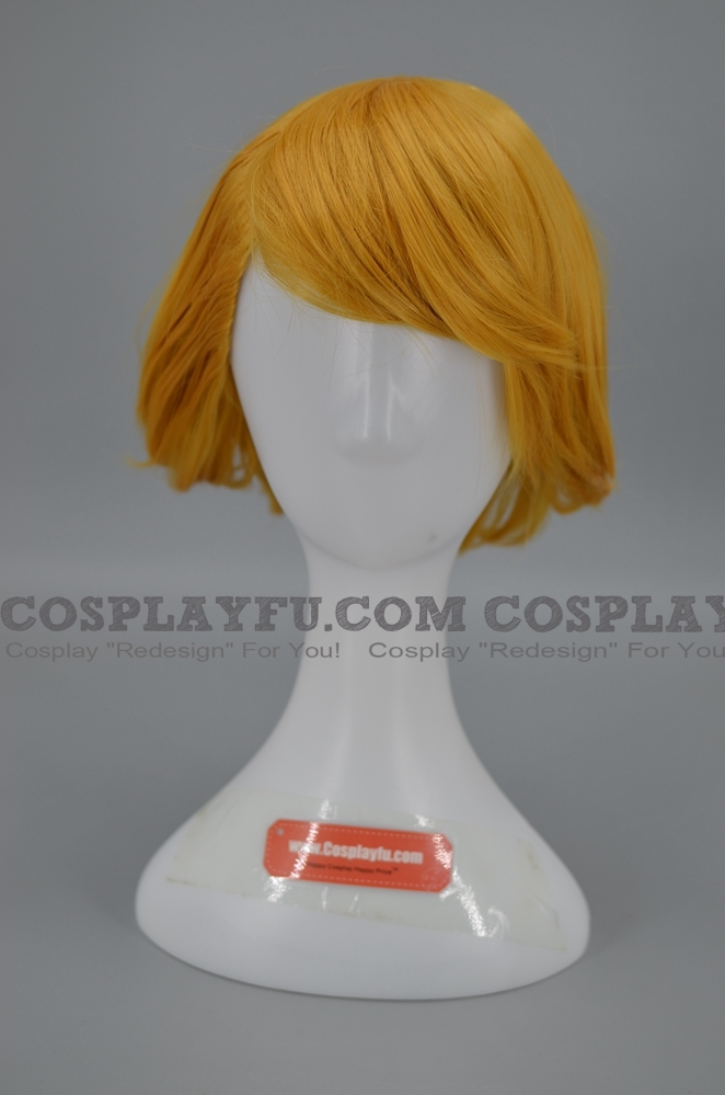 Tony Barde Cosplay Costume Wig from Professor Layton