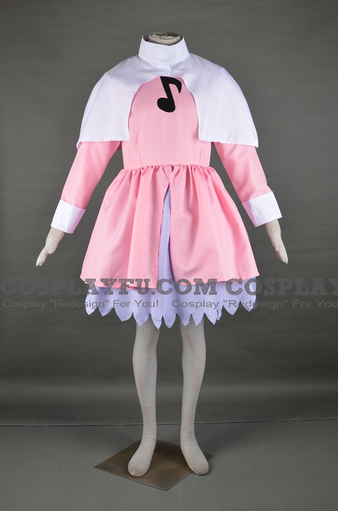 Sakura Cosplay Costume (Music 2nd) from Cardcaptor Sakura