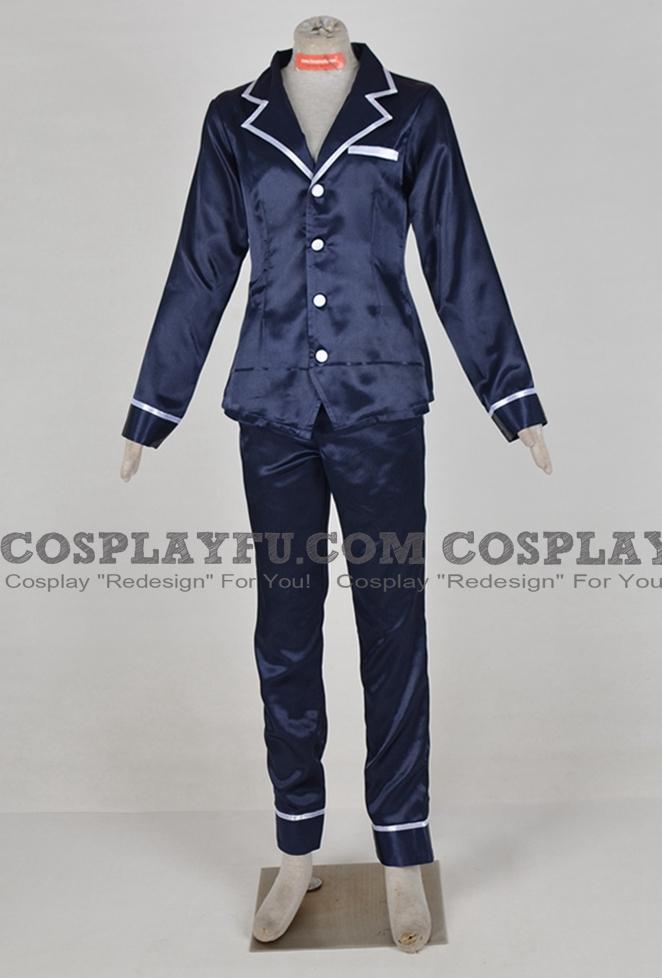 Yusaku Fujiki Cosplay Costume Pajama from Yu-Gi-Oh! VRAINS