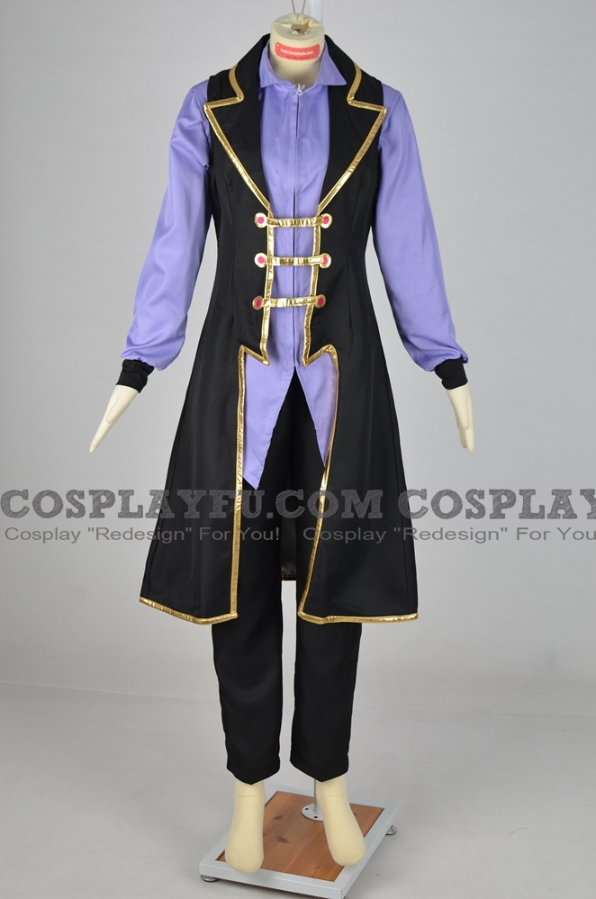 Ai Cosplay Costume from Yu-Gi-Oh! VRAINS