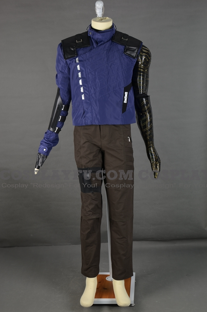Bucky Cosplay Costume (2nd) from Captain America