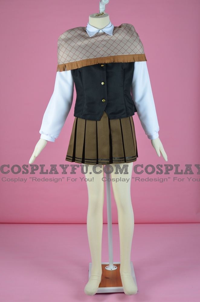 Iroha Nijiue Cosplay Costume from Super Danganronpa Another 2