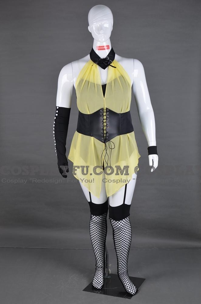 Sally Jupiter Cosplay Costume from Watchmen
