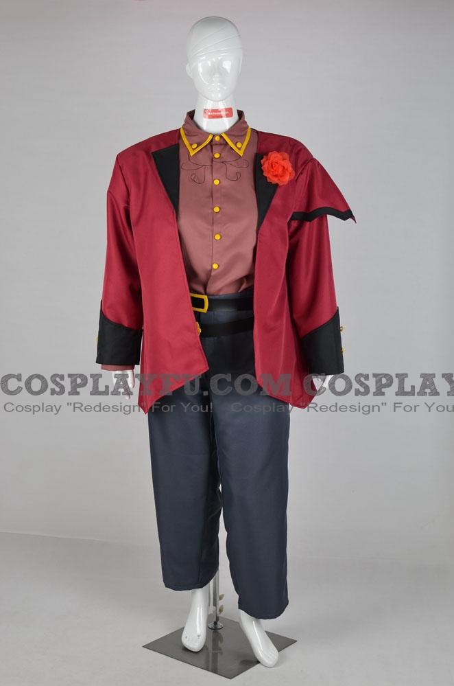 Daichi Akiyama ROUGE Cosplay Costume from Utauloid