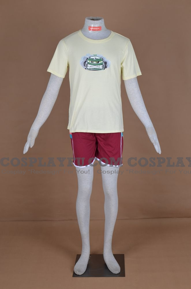 Eddie Kaspbrak Cosplay Costume from IT (2017, movie)