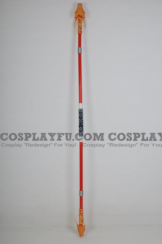 Zhou Yu Cosplay Costume Props from Dynasty Warriors