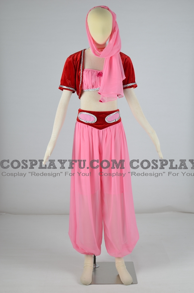 Jeannie Cosplay Costume from I Dream of Jeannie
