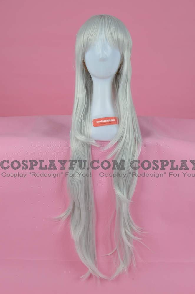 Emilia Cosplay Costume Wig from Re:Zero