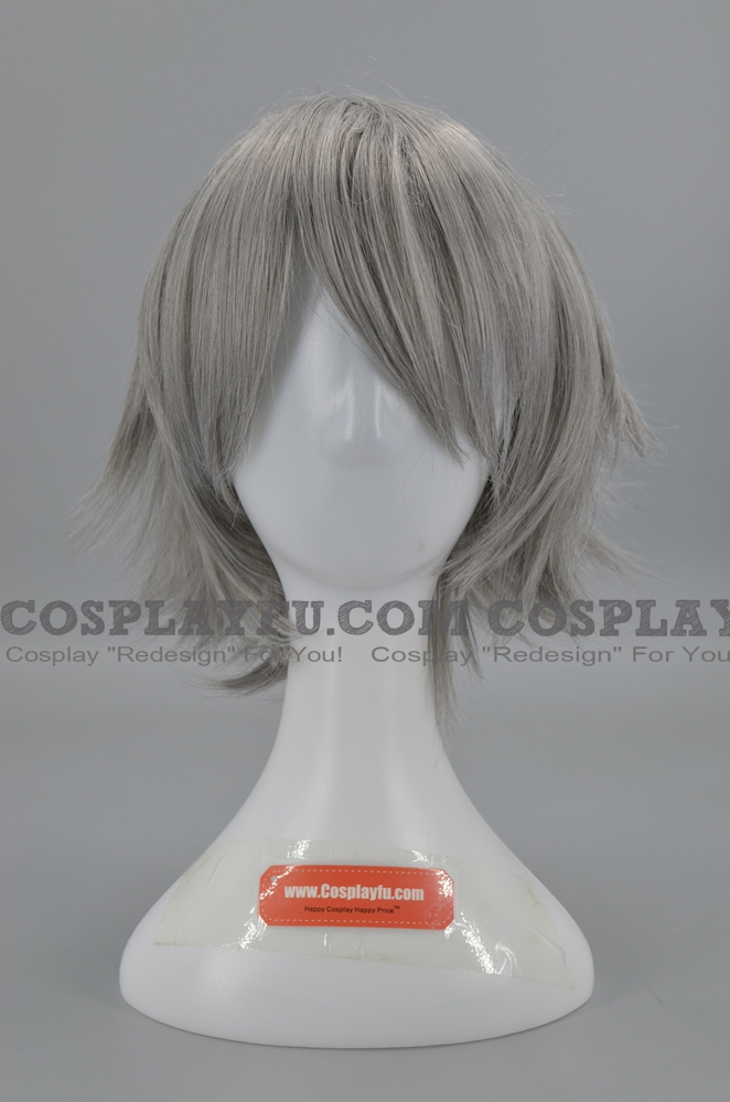 Grey Wig (Short,Spike,Prussia)