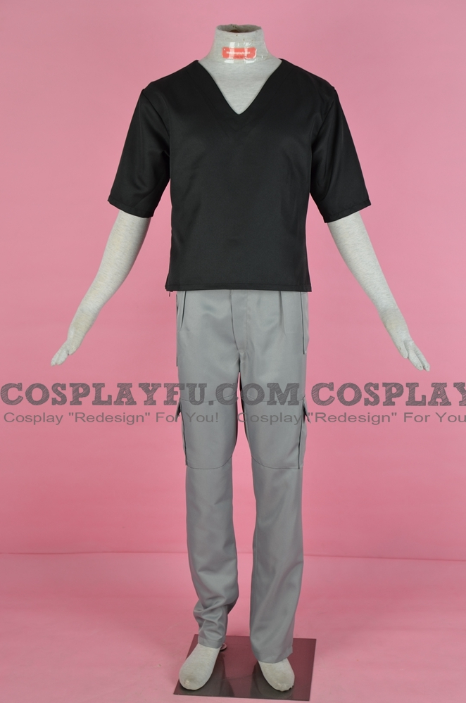 Kyo Sohma Cosplay Costume (Black) from Fruits Basket