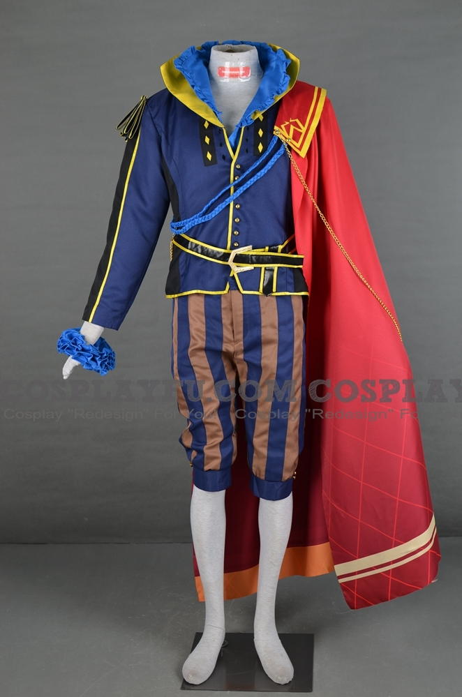 Hector Cosplay Costume From Fire Emblem Heroes