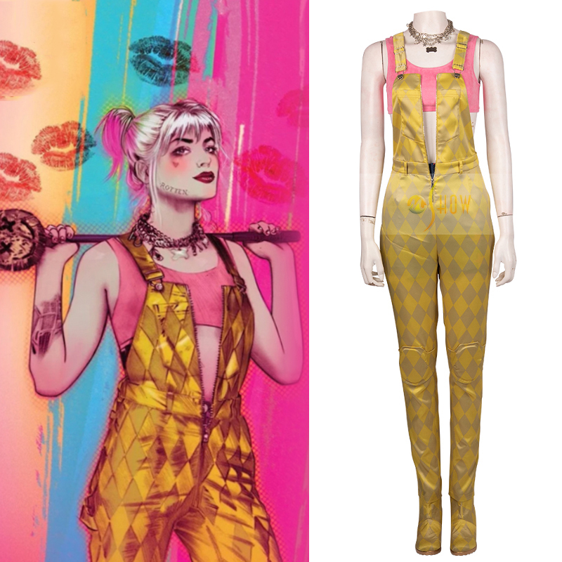 Harley Quinn Cosplay Costume from Birds of Prey