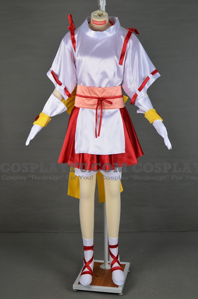 Maron Cosplay Costume from Kamikaze Kaito Jeanne