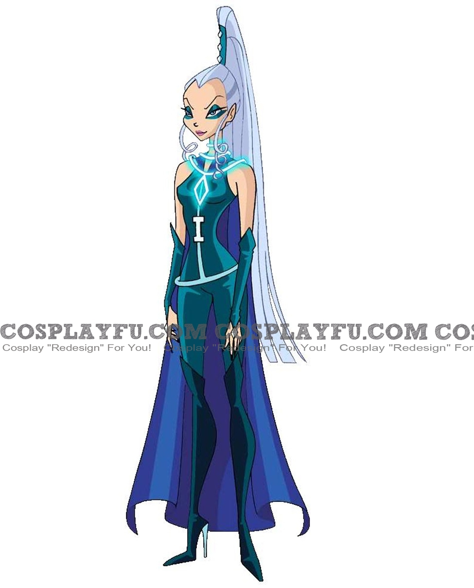 Icy Cosplay Costume (2nd) from Winx Club
