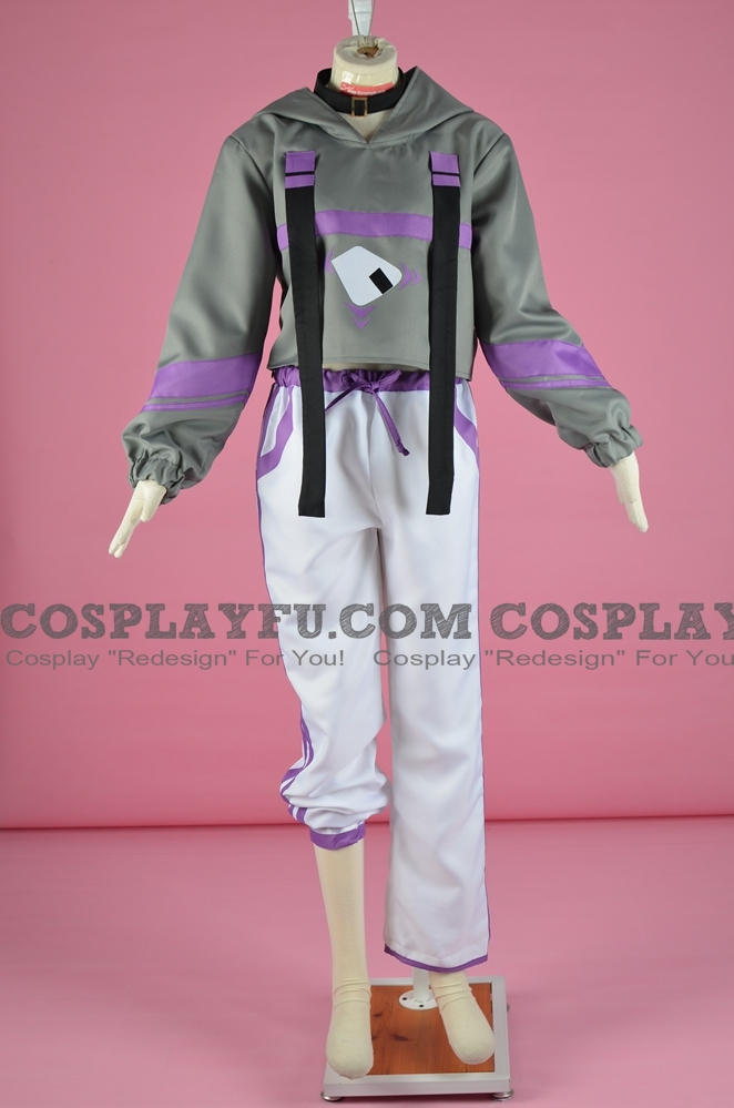 Nekomata Okayu Cosplay Costume from Virtual Youtuber