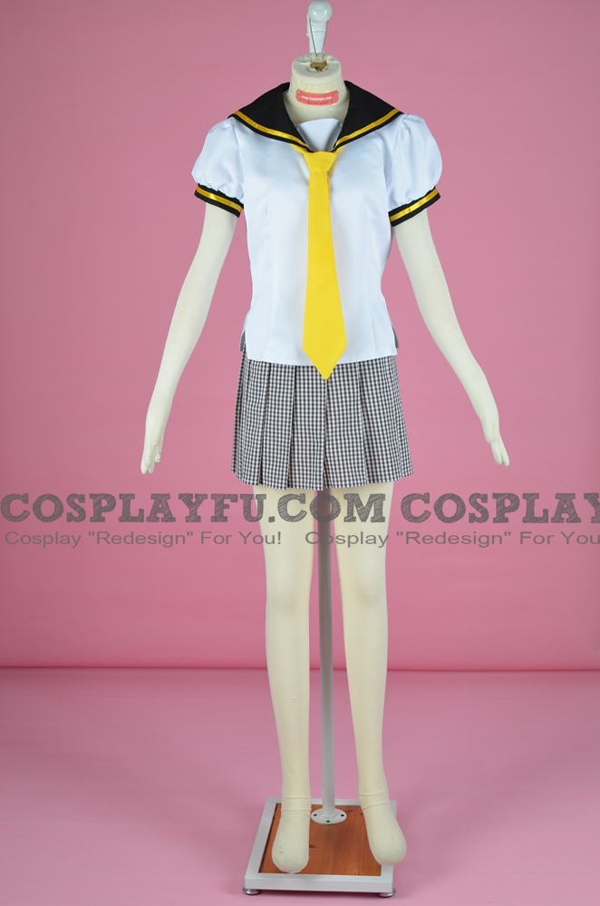 Kiana Cosplay Costume from Guns Girl School DayZ