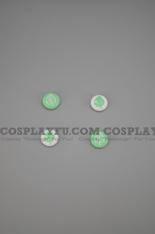 Animal Crossing Thumb Grips Caps Cover - Free Envoi Cosplay (Version B, For Switch Switch-Lite Joycon, Pack of 4)