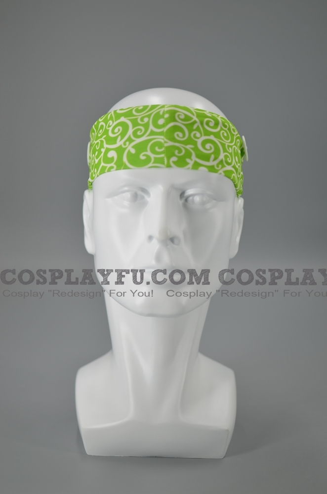 Headband with Buttons for Mask (5543)