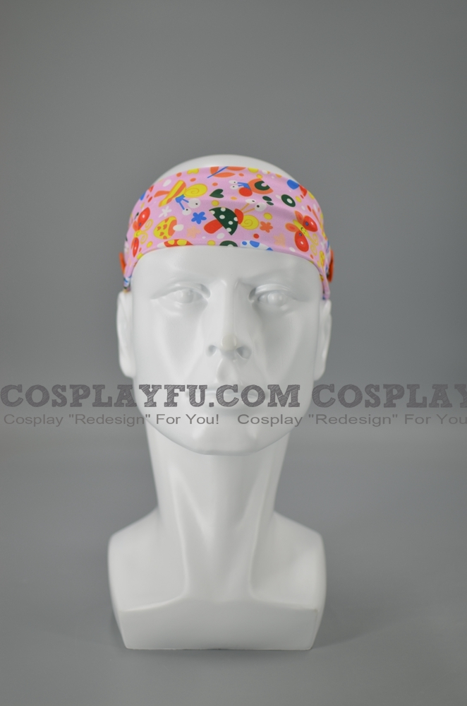 Headband with Buttons for Mascara Cosplay (5544)