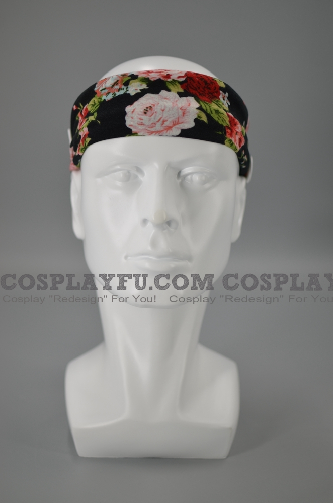 Headband with Buttons for Mascara Cosplay (5547)
