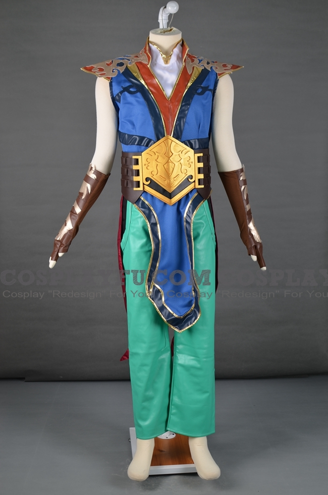Fujin Cosplay Costume from Mortal Kombat