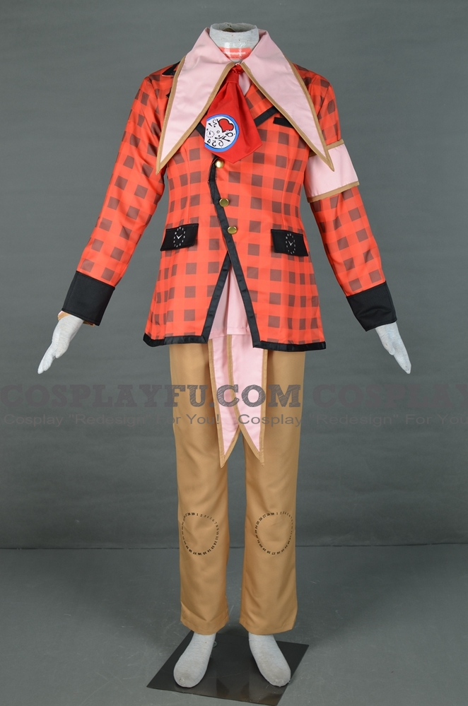 Peter Cosplay Costume from Alice in the Country of Hearts