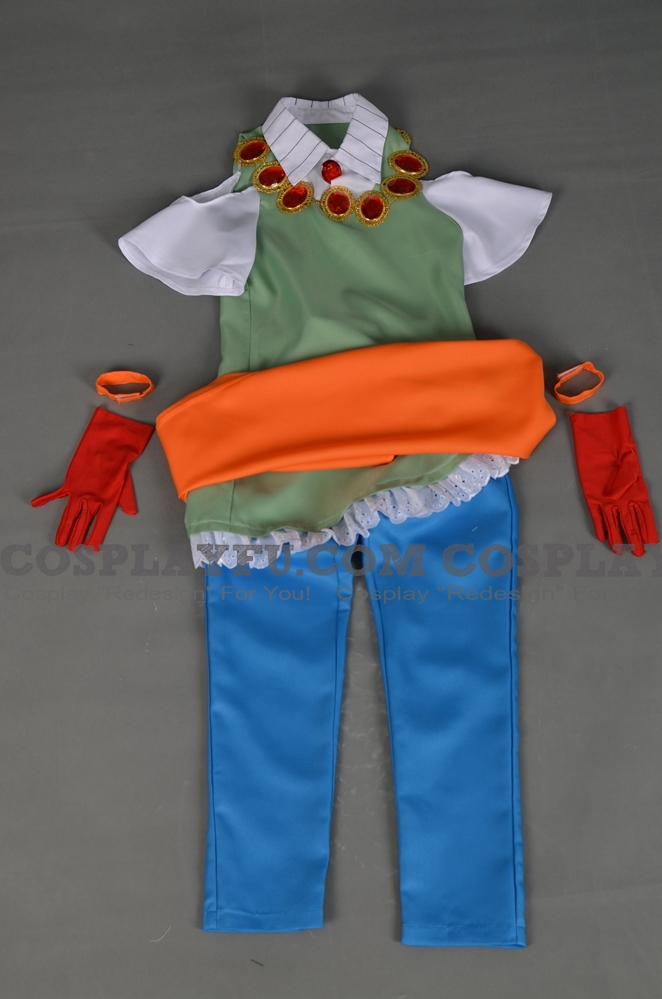 Rubette La Lette Cosplay Costume from The Anime Gokudo