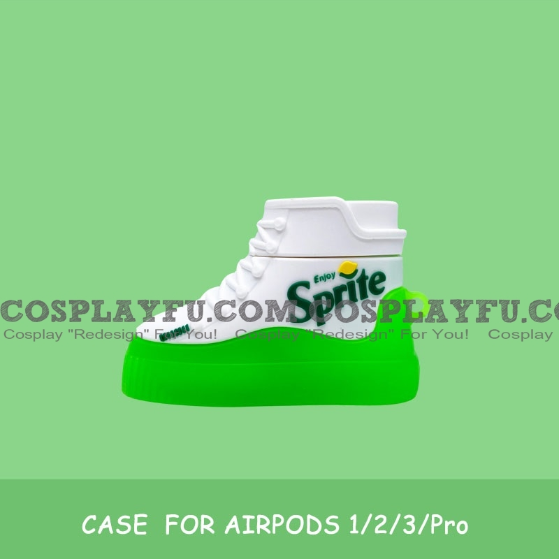 Cute Green Sprite Shoes | Silicone Case for Apple AirPods 1, 2, Pro