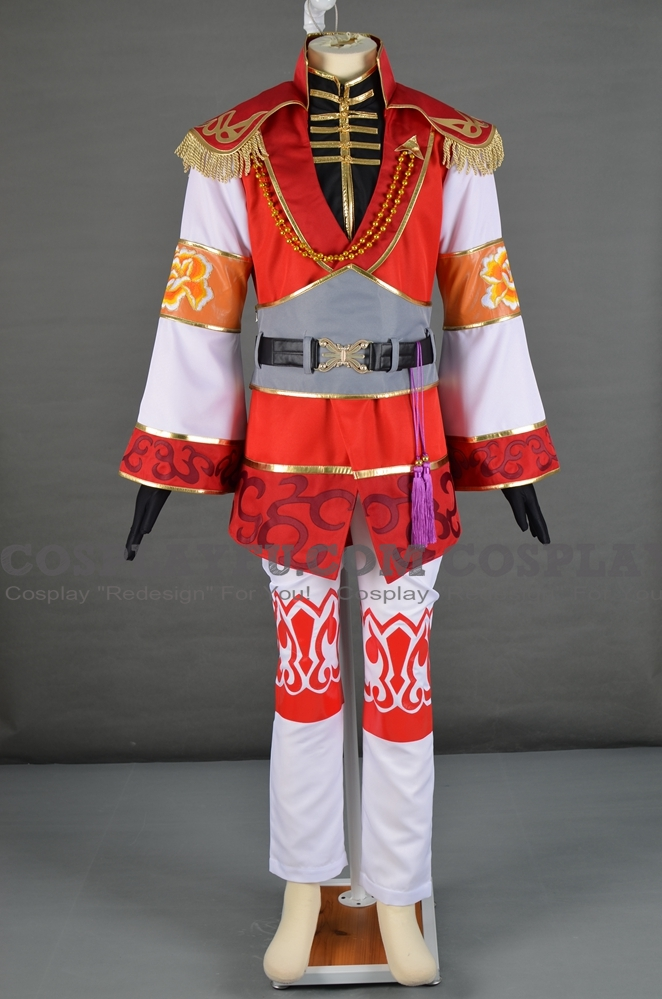 Zhou Cosplay Costume from Dynasty Warriors 7