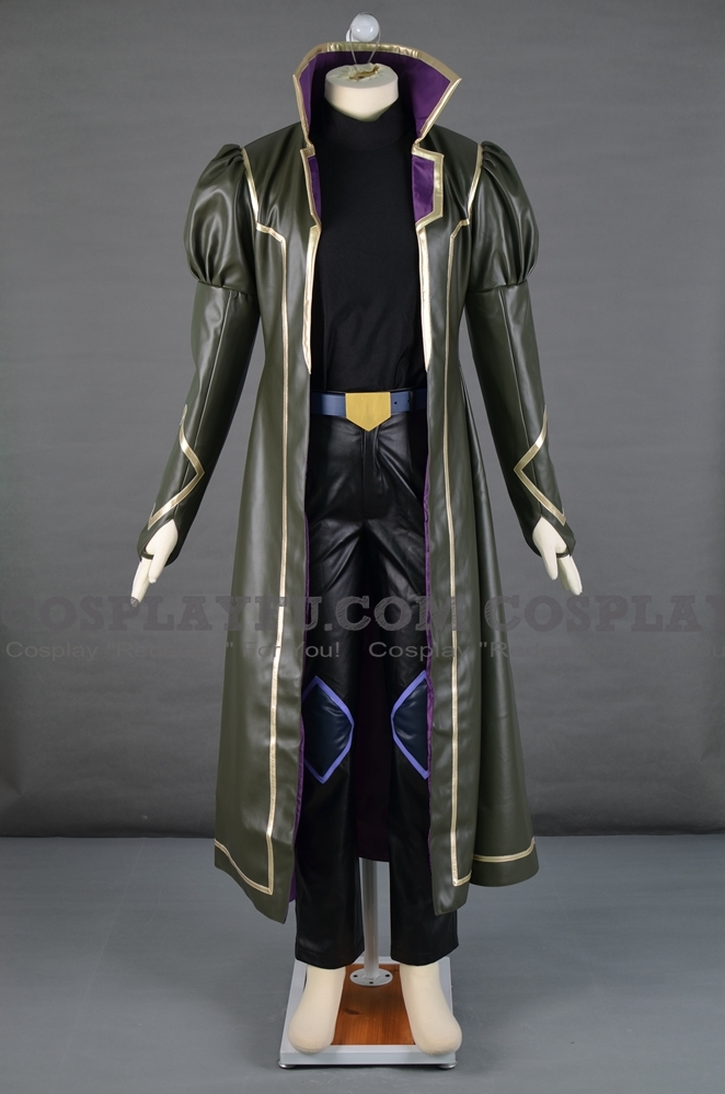 Nightshroud Cosplay Costume from Yu-Gi-Oh! GX