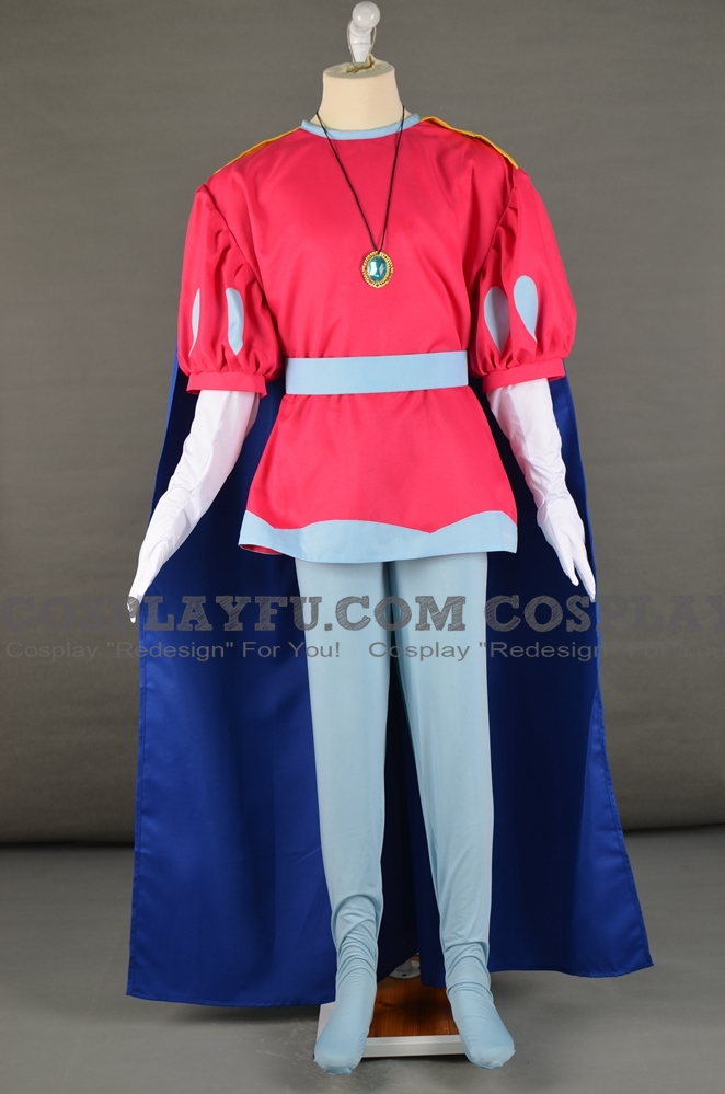 Prince Haru Cosplay Costume from Super Mario Bros