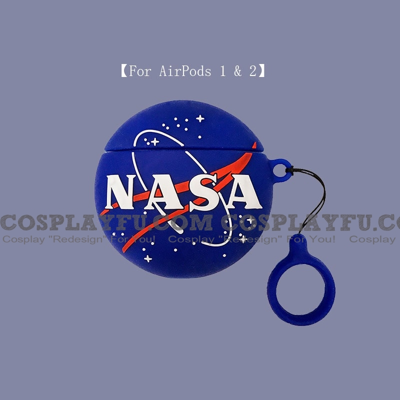 Lovely NASA | Airpod Case | Silicone Case for Apple AirPods 1, 2, Pro 코스프레 (81503)