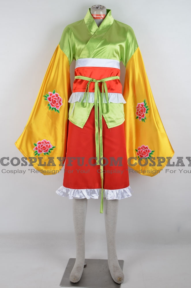 Hieda Cosplay Costume from Touhou Project