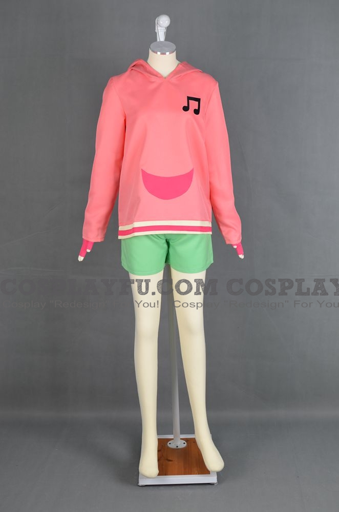 Sonia Cosplay Costume from Mega Man Star Force