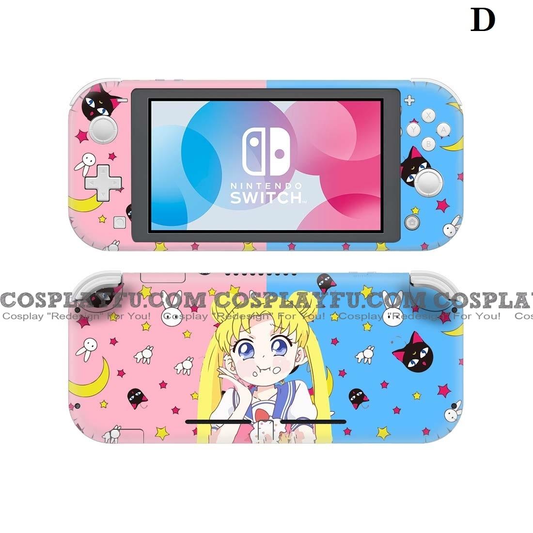 Sailor Moon Nintendo Switch Lite Decal Lite Skin Sticker